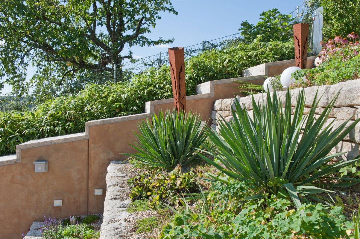 Garten Am Hang Büro Hink Landschaftsarchitektur Gmbh . Schöne Garten Am Hang  .